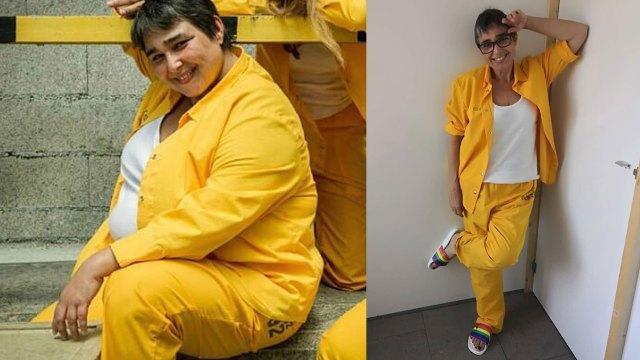 María Isabel Díaz antes y después de bajar 42 kilos. (Foto: Instagram)