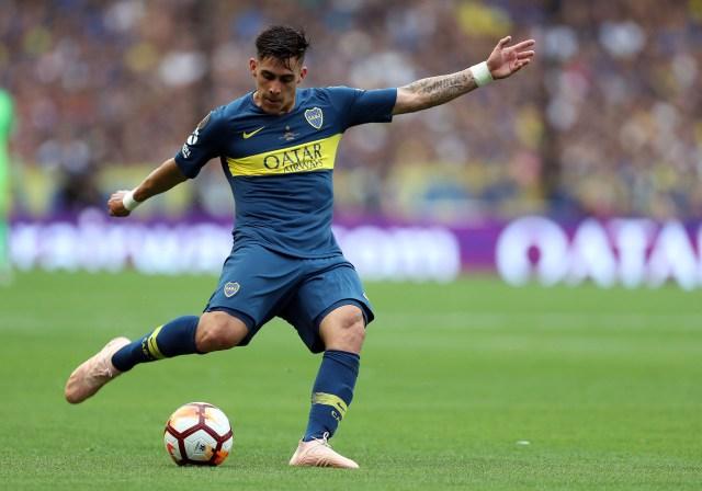 El cordobés de 23 años es alternativa para la ofensiva del equipo de Scaloni (EFE/Raúl Martínez)
