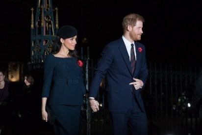 Meghan Markle y el príncipe Harry esperan su primer hijo (EFE)