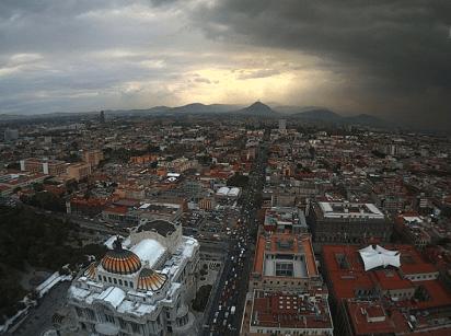 Actualmente, la capital mexicana abarca 1.485 kilómetros cuadrados (Foto: Webcam)