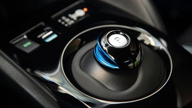 El interior del Nissan LEAF