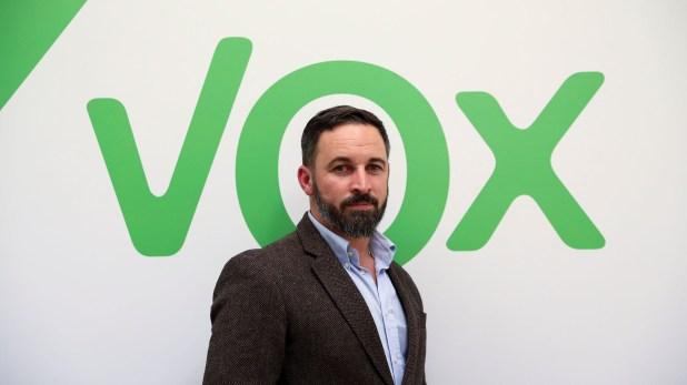 Santiago Abascal, líder del partido español de ultraderecha VOX (REUTERS/Susana Vera)