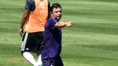 Marcelo Gallardo busca al reemplazante de Santos Borré (FotoBaires)
