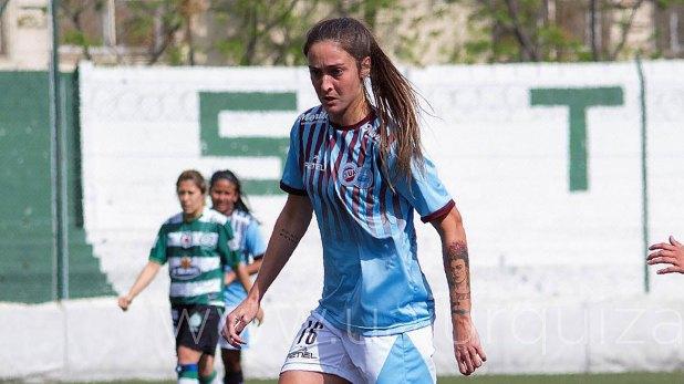 Macarena Sánchez, delantera de UAI Urquiza
