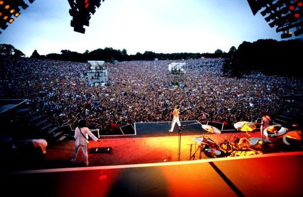 We Are The Champions, junto con We Will Rock You, fue uno de los temas más coreados en vivo de la historia de la banda