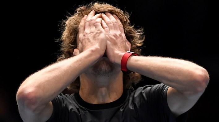 La emoción de Zverev (Reuters)