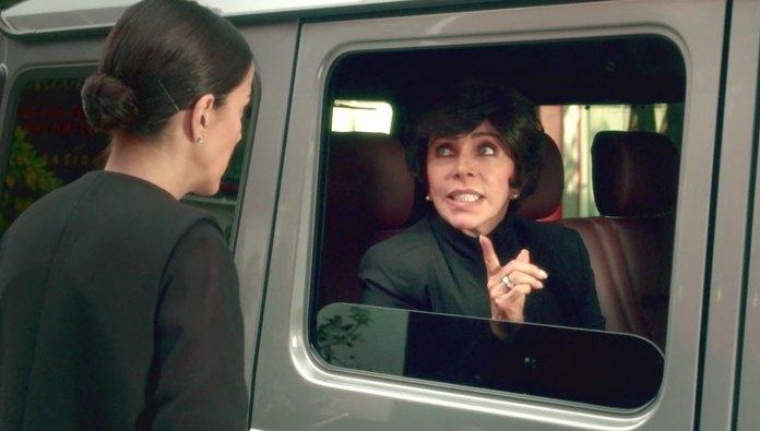 Verónica Castro estuvo en negociaciones con Netflix, pero no la convencieron los términos en los que aparecería en la serie (Fotos: Netflix)