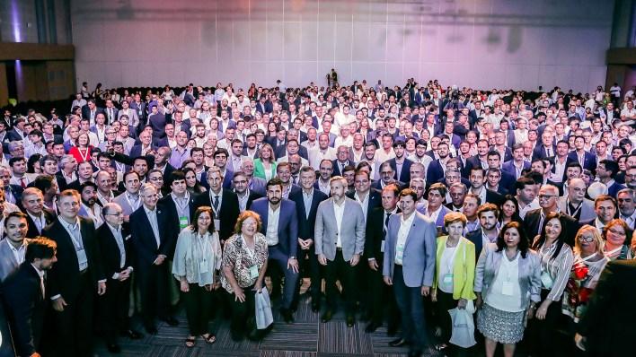 El presidente Macri encabezó el acto de apertura del Segundo Foro Nacional de Intendentes