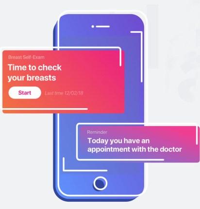 La app Celbrea, basada en IA.
