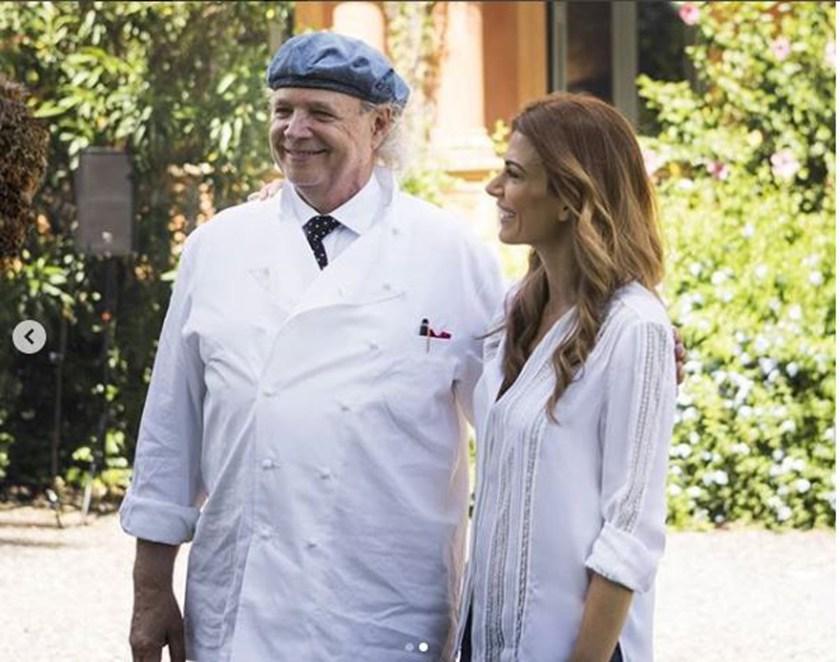 El chef Francis Mallmann fue el encargado de explicar cómo fue realizado  el menú