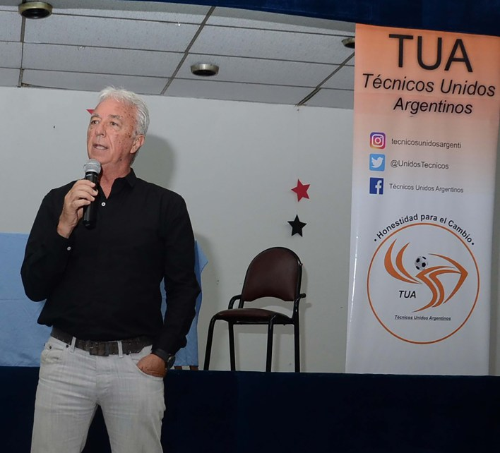 Jorge Brandoni encabeza TUA: Técnicos Unidos Argentinos (Foto: Daniel Cosentino)
