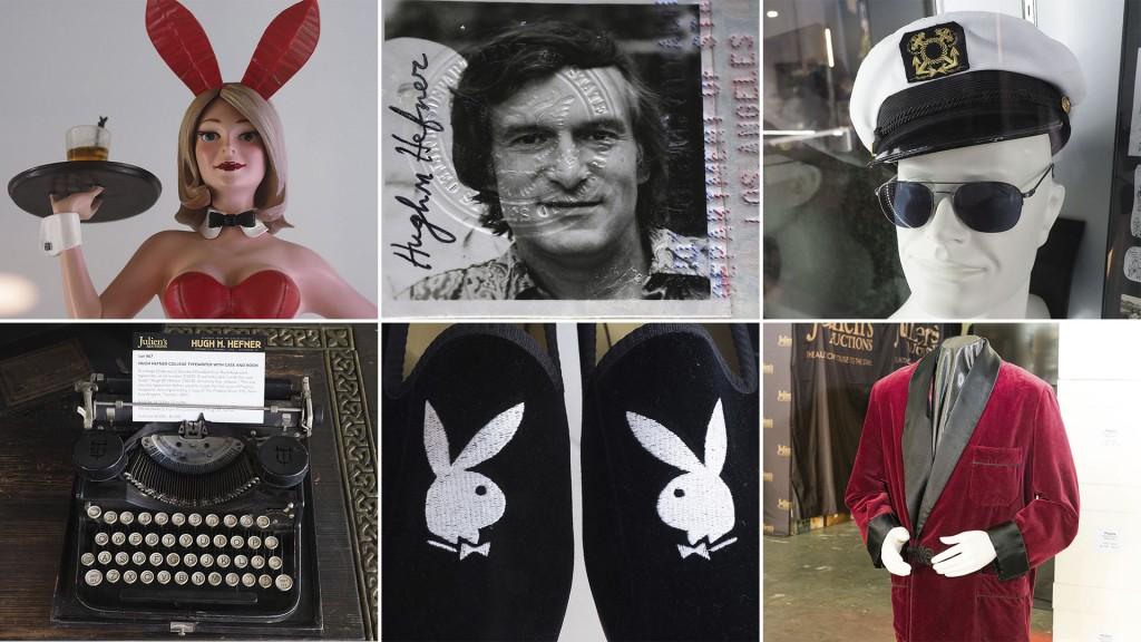 Hugh Hefner Playboy subasta PORTADA