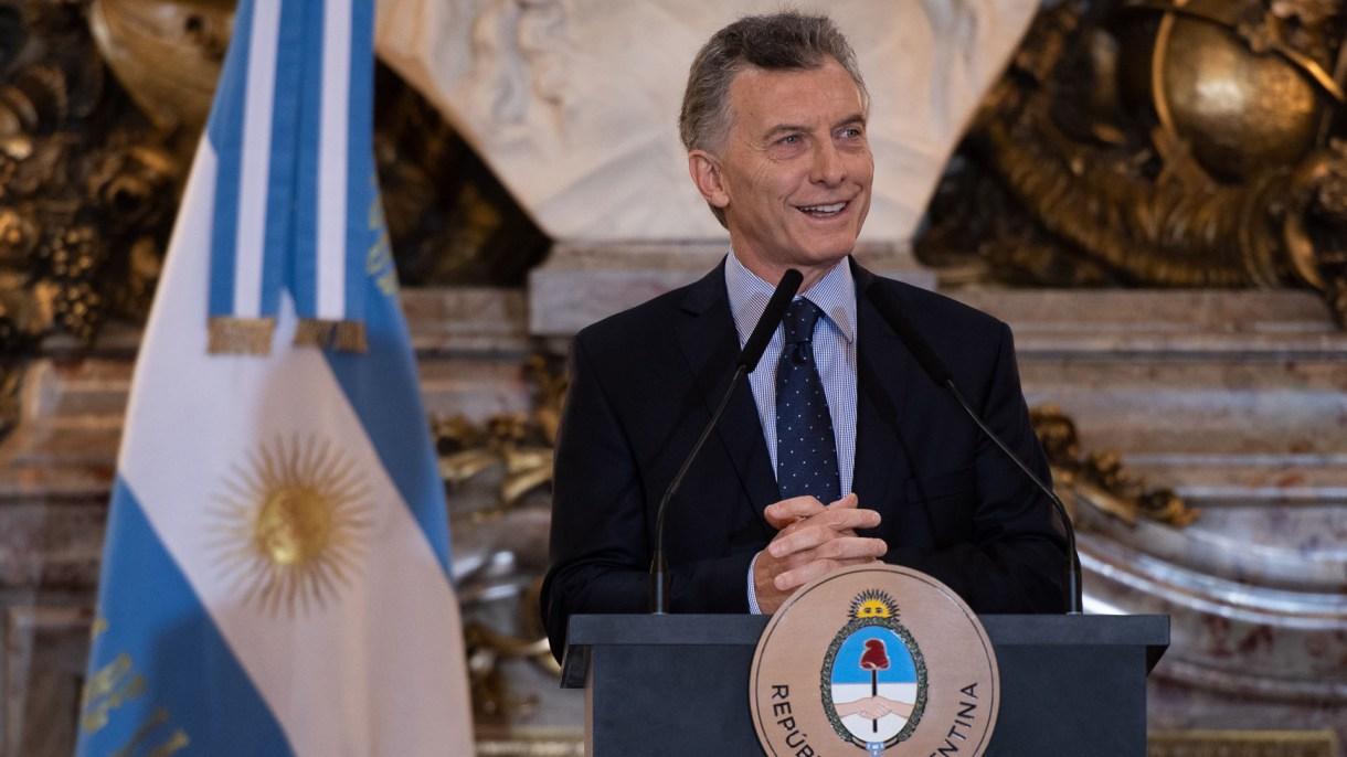 Un sondeo asegura que la imagen positiva del presidente Macri trepó al 51% (Adrián Escandar)