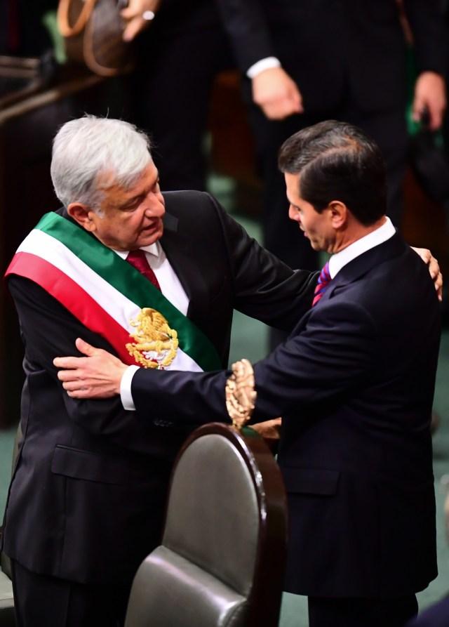 A 100 días de gobierno, su popularidad sigue a la alza (Foto: AFP)