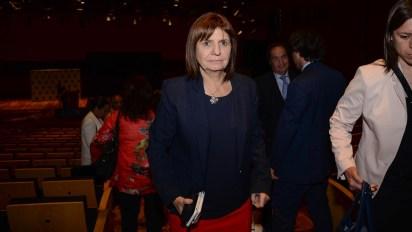 La ministra Patricia Bullrich (foto Julieta Ferrario)