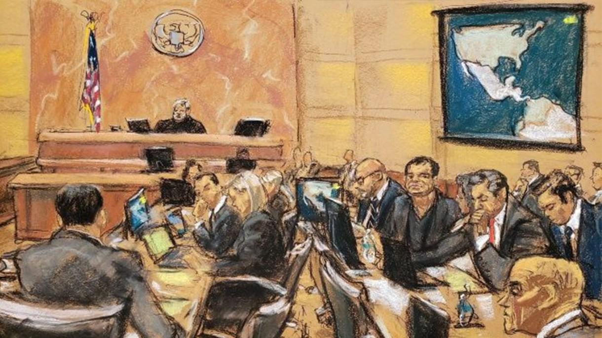 El juicio contra el capo cumple ya más de un mes (Foto: EFE)