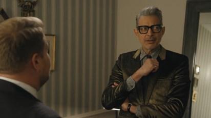 James Corden y Jeff Goldblum
