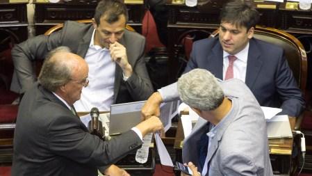 Los legisladores de Argentina Federal y el Frente Renovador (NA)
