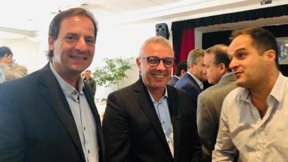 Airel Sujarchuk junto al intendente de Tigre, Julio Zamora