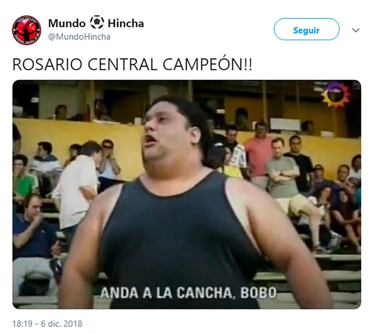 Los mejores memes tras el título de Rosario Central por la Copa Argentina