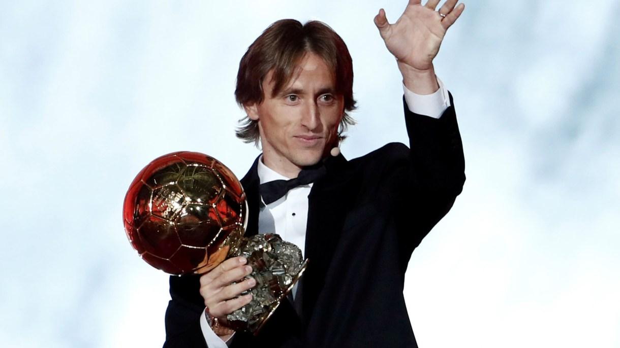 Luka Modric fue elegido el mejor futbolista del 2018 (Reuters)