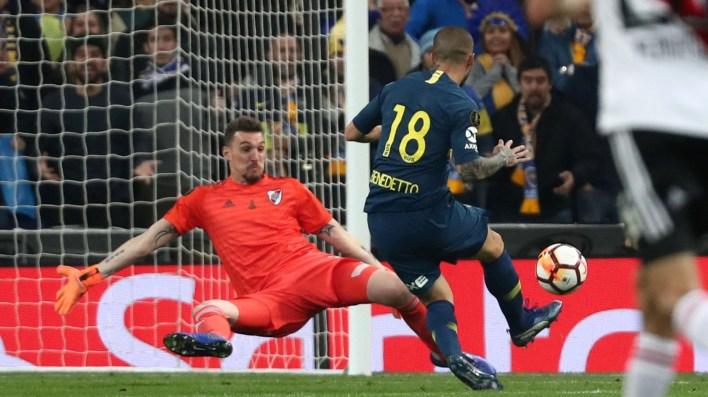 Benedetto estampó el 1 a 0