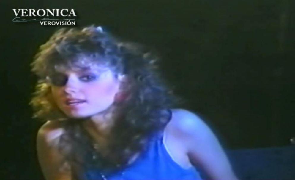 Angélica Rivera debutó en el medio artístico gracias a su ex cuñada, la actriz Verónica Castro (Foto: YouTube Verovisión)