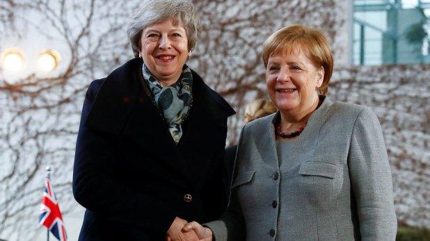 Theresa May y Angela Merkel (Reuters)