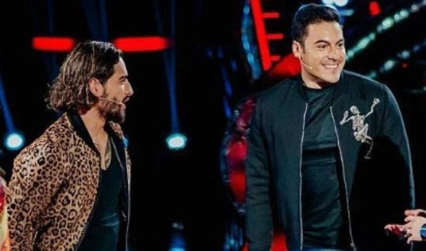 Carlos Rivera y Maluma forjaron una relación entrañable, con bromas pesadas (Foto: Instagram maluma)