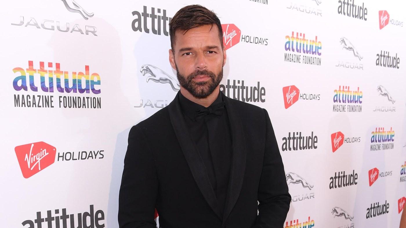 Ricky Martin será presentador en los premios Globos de Oro 2019 (Grosby Group)