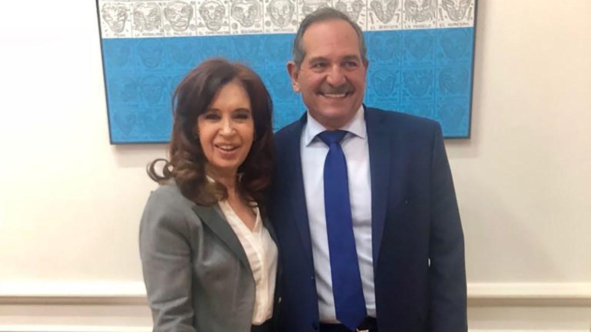 Cristina Kirchner junto a José Alperovich