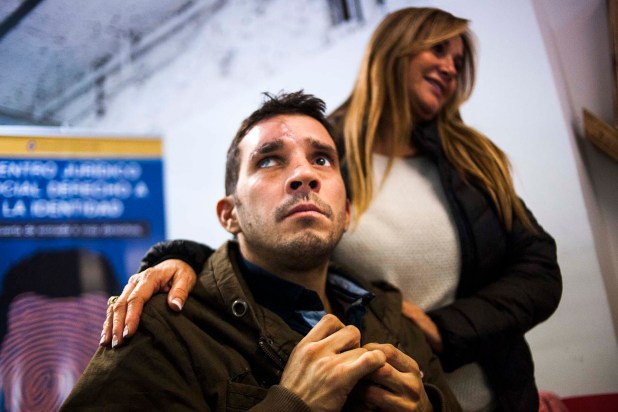 Ariel Nacer, argentino desaparecido hace 15 años, fue encontrado en Perú por Florence Arce Ross, quien lo trasladó a Argentina (Manuel Cortina)