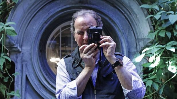 El fotógrafo Aldo Sessa (Lihueel Althabe)