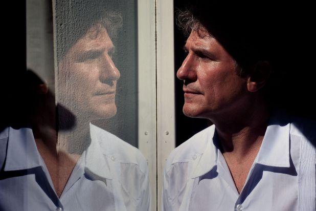 Amado Boudou días después de conseguir la libertad en el penal de Ezeiza (Nicolás Sturlberg)