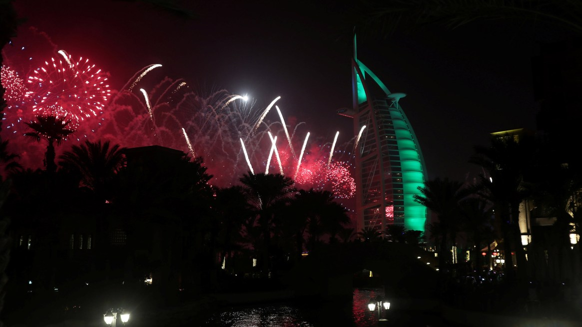 Festejos en Dubai (Reuters)