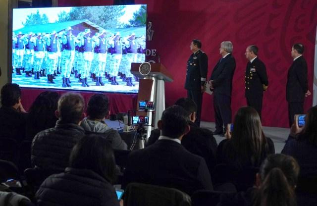 Convocatoria para formar parte de la Guardia Nacional (Foto: Presidencia de México)