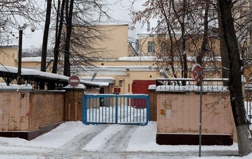 Vista general del centro de detención Lefortovo, donde Whelan está detenido (Reuters)