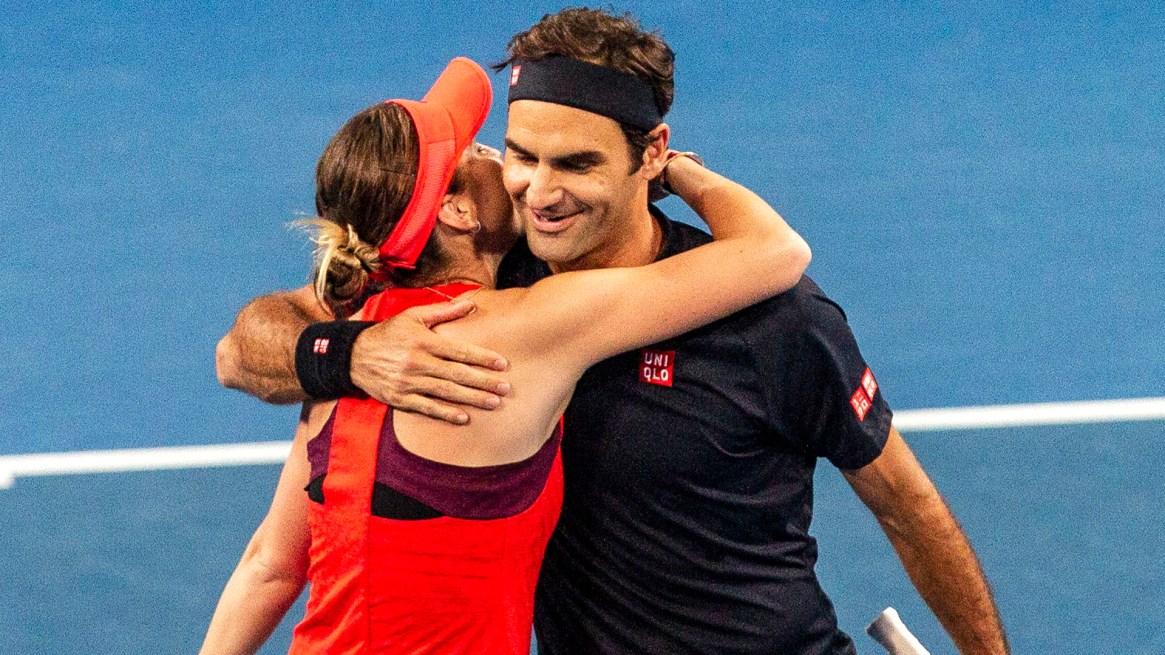 (EFE) Roger Federer y Belinda Bencic se impusieron a Estados Unidos
