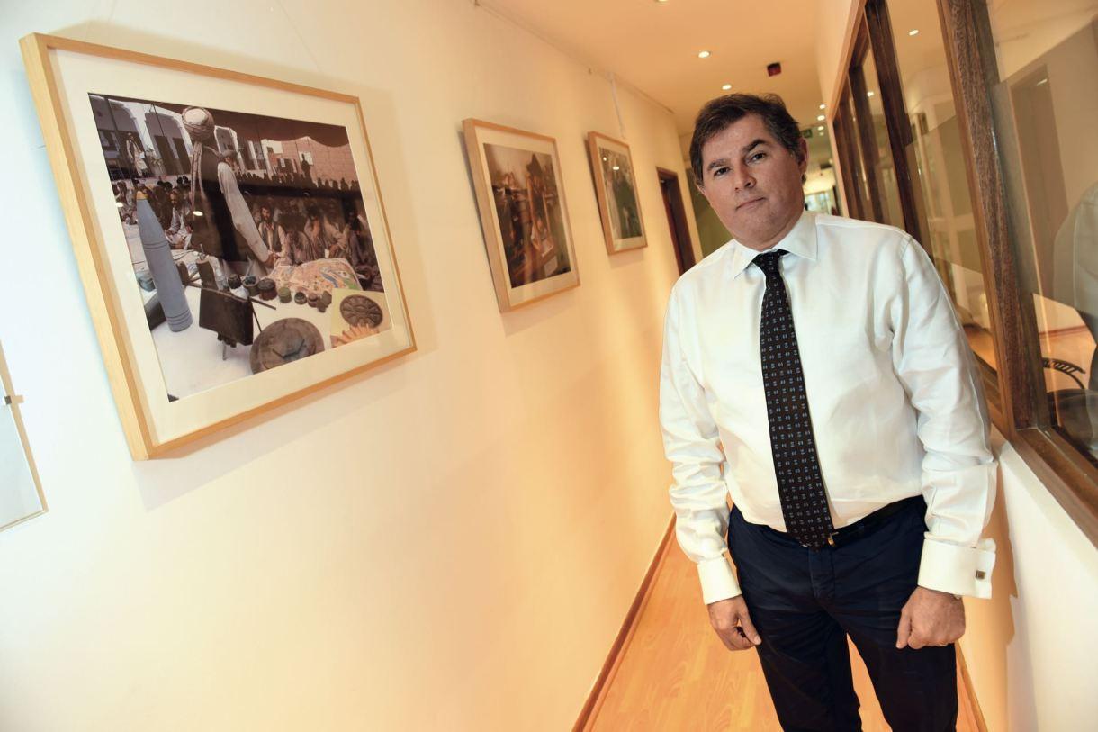 Murillo, en su oficina de Buenos Aires. Reconoció que, en cuanto a la temática de refugiados, la región latinoamericana vive un momento delicado.