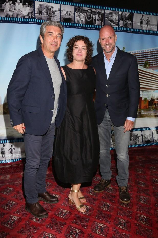 Ricardo Darín, Florencia Bas y Giuseppe Cipriani