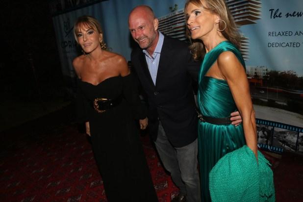 Patricia y Rossella Della Giovampaola fueron recibidas por Giuseppe Cipriani