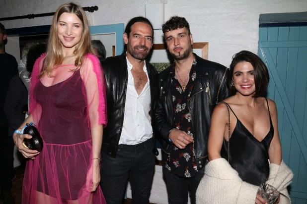 Soledad Ainesa, Diego Finkelstein, Dante Spinetta y Carolina Levi