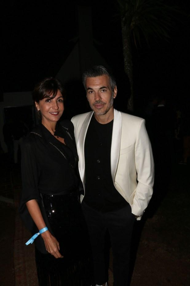 Evangelina Bomparola y Juan Pons