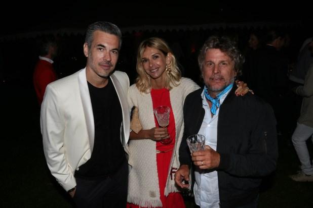 Juan Pons, Vicky Fariña y Pappo Rocca