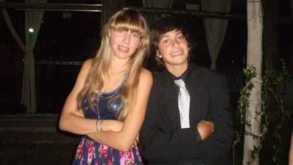 Los amigos, en el primer cumpleaños de 15 al que fueron juntos (Fotos: Gentileza Familia Ochoa y familia Irustia).