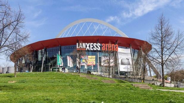 El Lanxess-Arena de Colonia, con capacidad para 19.250