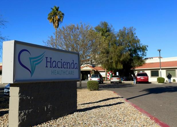 En esta fotografía del 4 de enero de 2019 se muestra la clínica privada Hacienda HealthCare en Phoenix (AP Foto/ Ross D. Franklin)