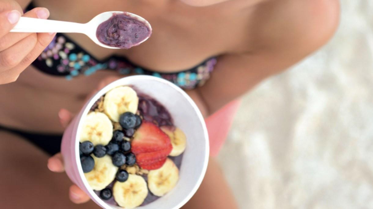 Plan semanal de una semana para comer saludable y adelgazar durante las vacaciones