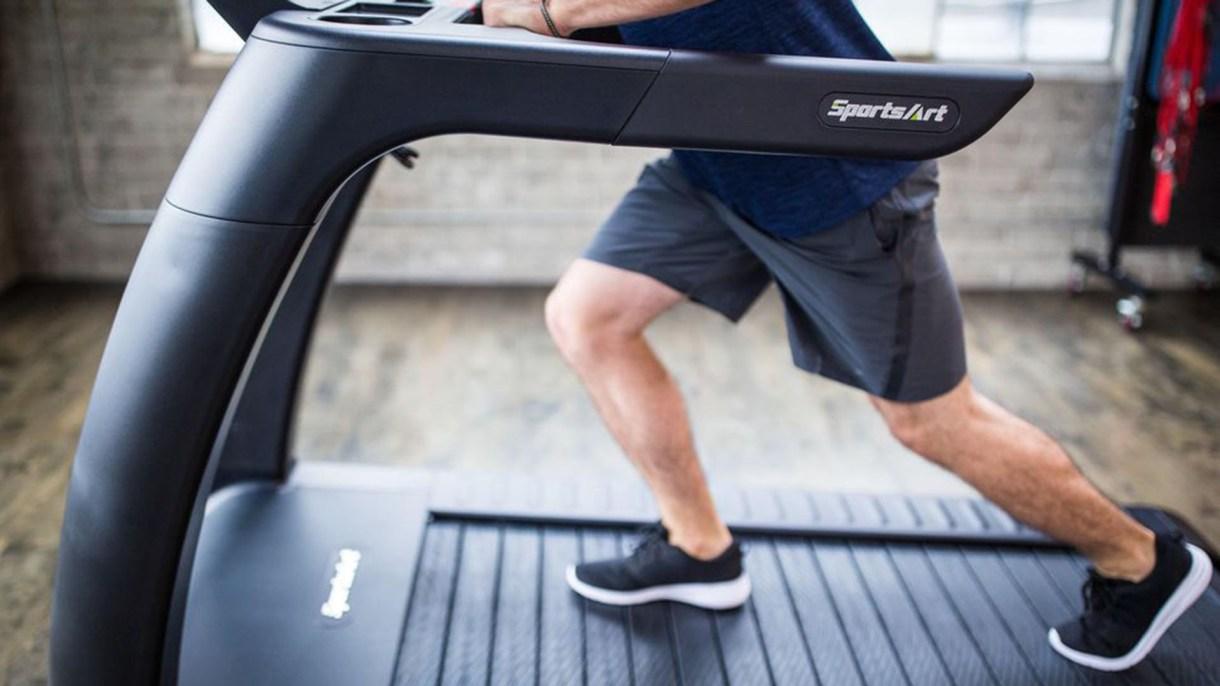 La cinta de correr que genera energía, de SportsArt