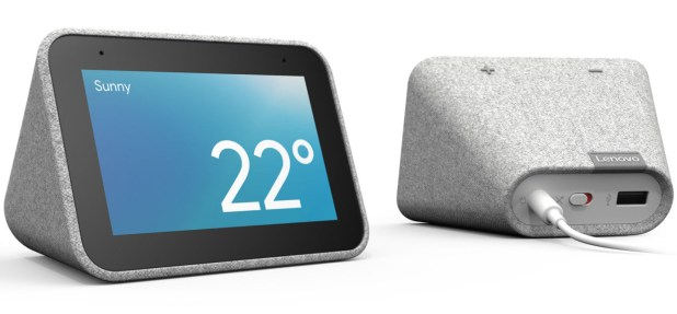 El Lenovo Smart Clock es un despertador inteligente que integra al asistente virtual de Google.